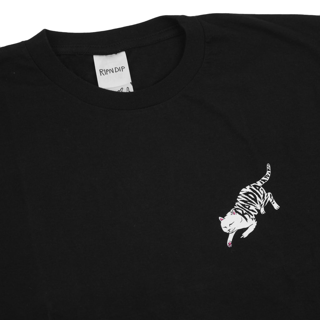 RIPNDIP Tattoo Nermal T Shirt in Black - Detail