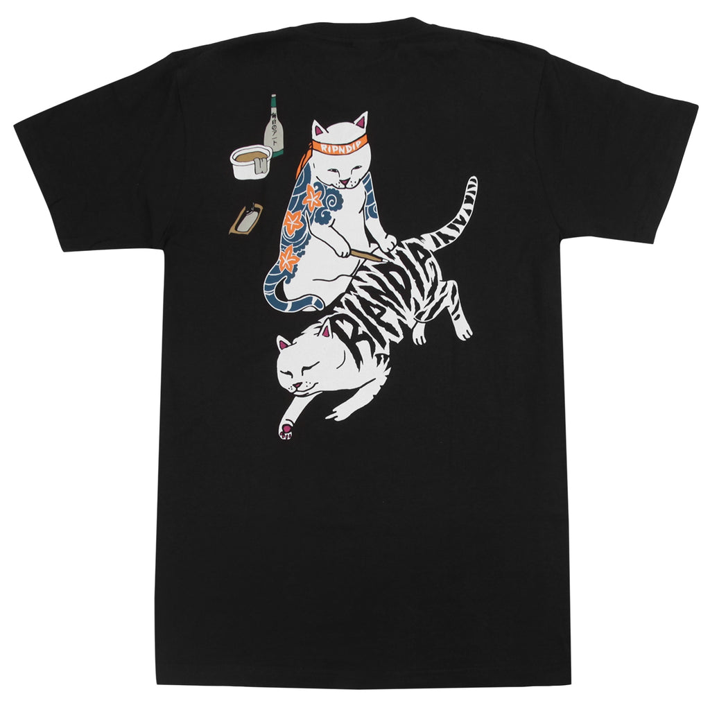 RIPNDIP Tattoo Nermal T Shirt in Black