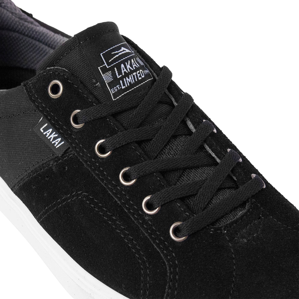 Lakai Flaco Shoes in Black / Grey - Detail