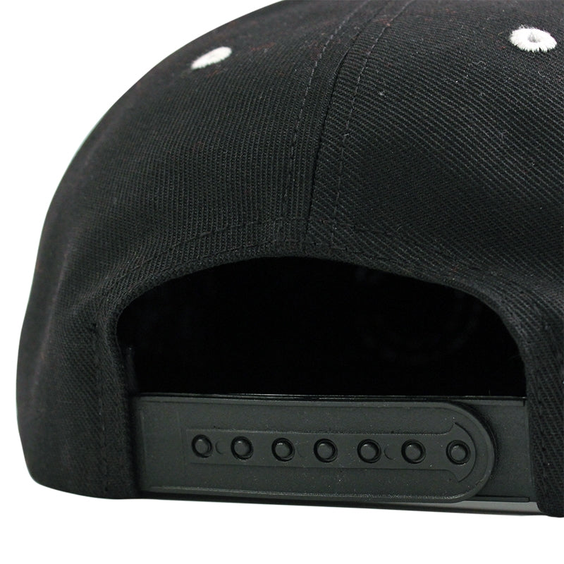 Polar Skate Co PSC Soft Snapback in Black / Yellow - Back