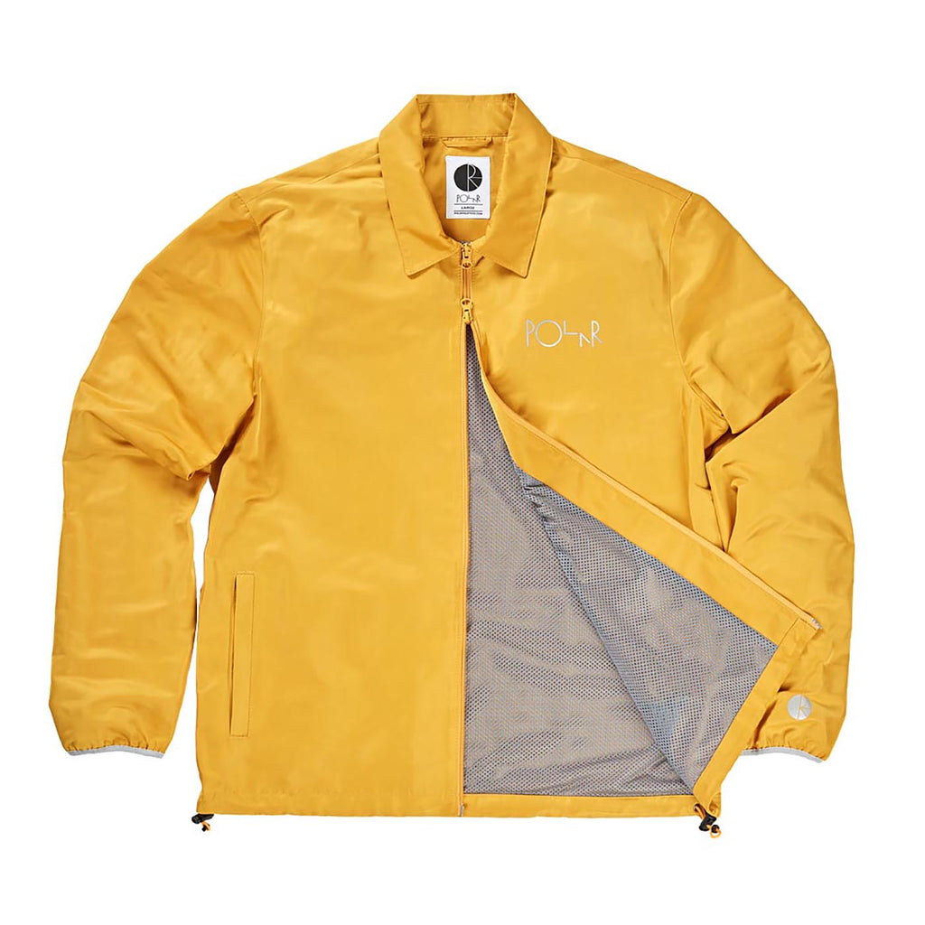 Polar Skate Co Skypager Jacket in Yellow