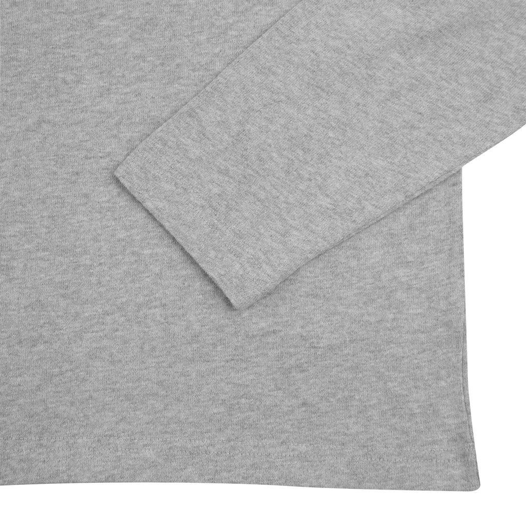 Stussy Kent Football Jersey in Grey Heather - Cuff