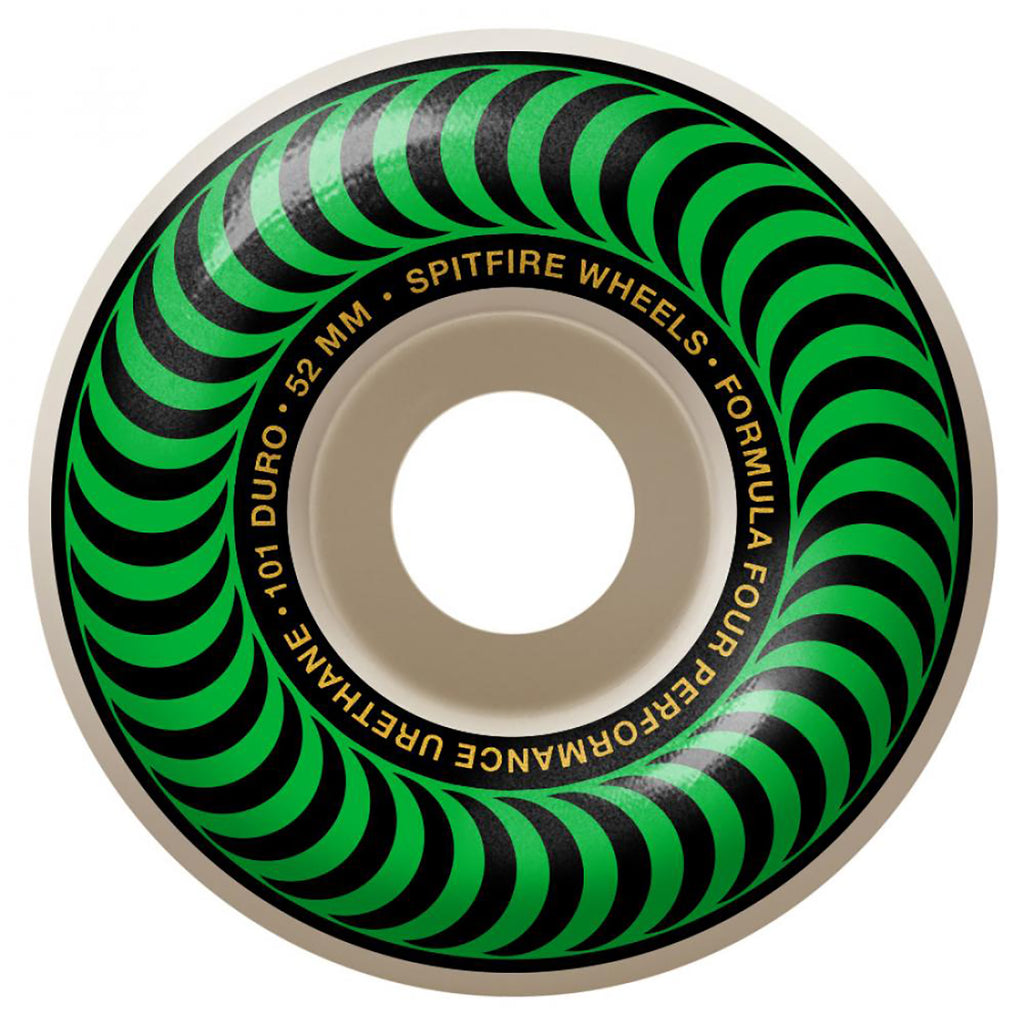 Spitfire Wheels Formula Four Classic 101 Duro Wheels in 52mm