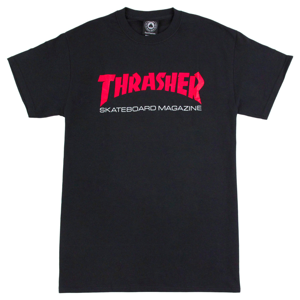 Thrasher Resurrection T Shirt in Black
