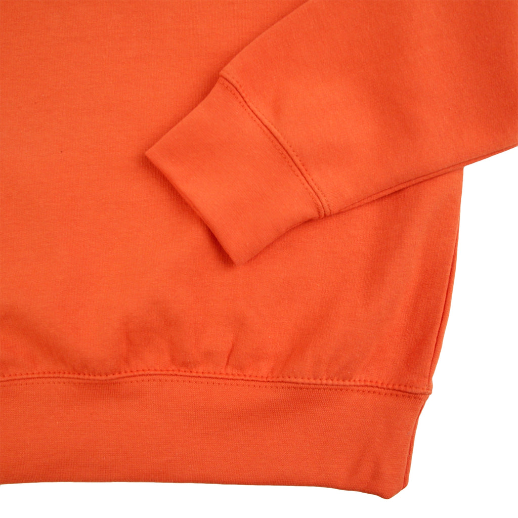 Bored of Southsea Hammer Sweatshirt in Burnt Orange / Burnt Orange - Hem