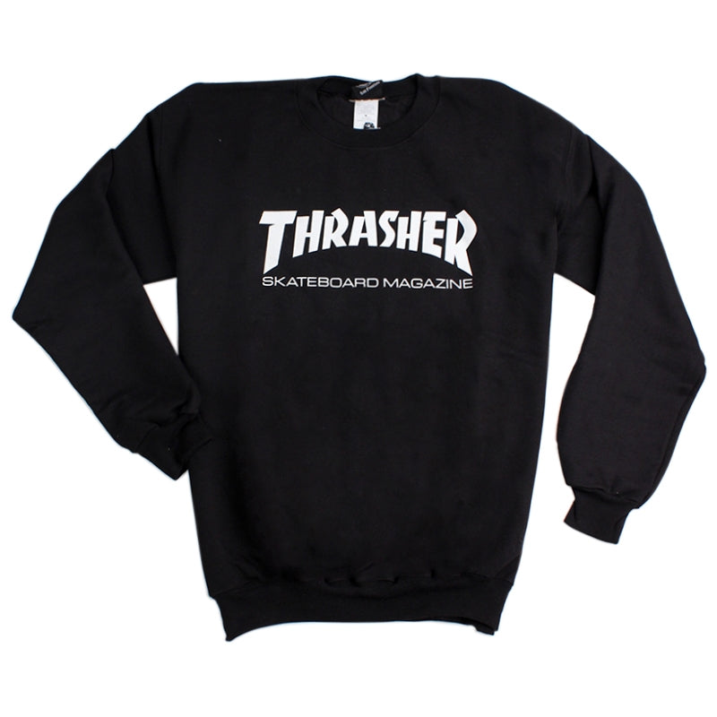 Thrasher Skate Mag Logo Sweatshirt in Black