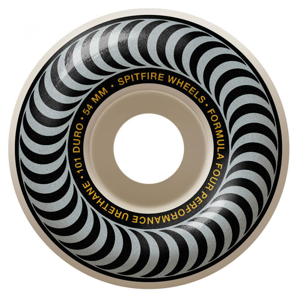 Spitfire Wheels Formula Four Classic 101 Duro Wheels in 54mm