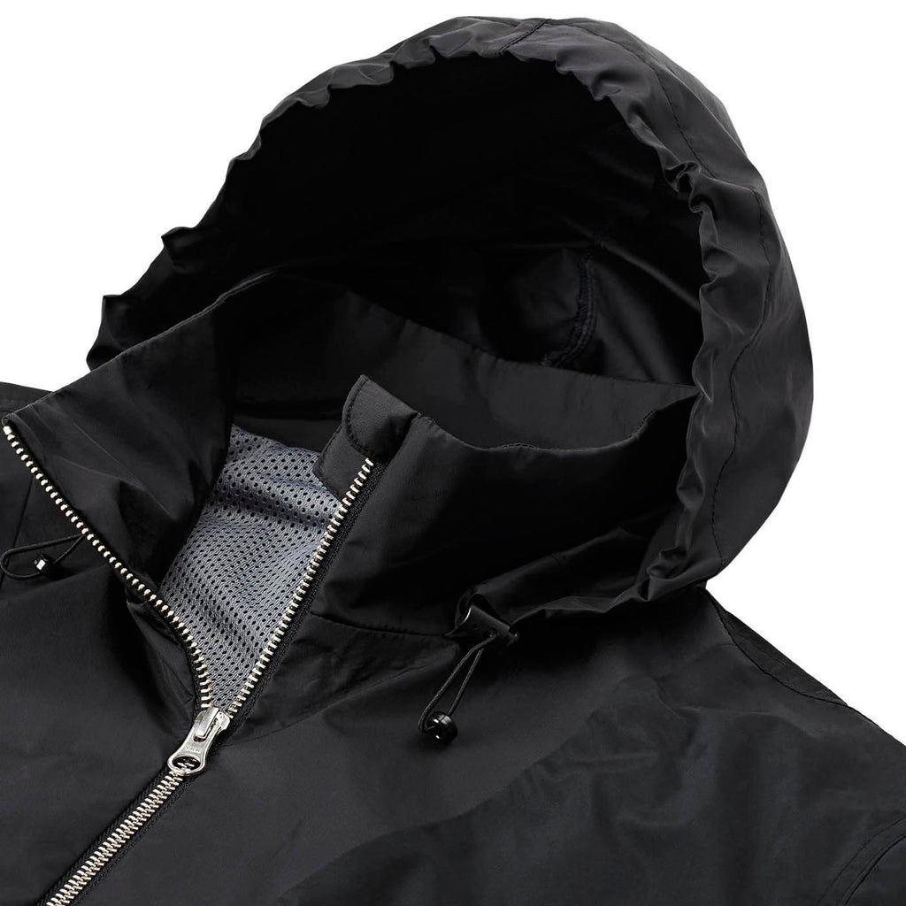 Polar Skate Co Golf Club Pullover Jacket 2.0 in Black - Detail