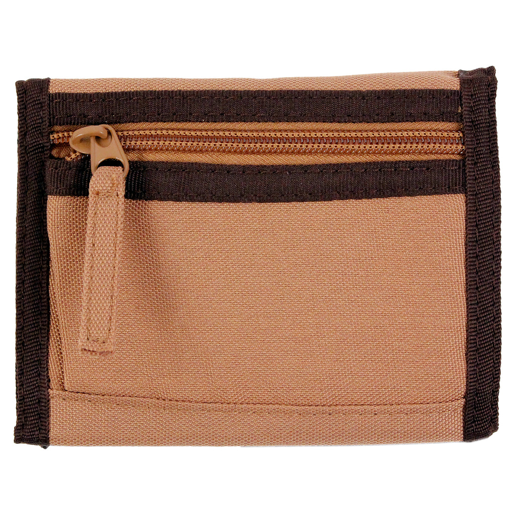 Dickies Crescent Bay Wallet in Brown Duck - Back