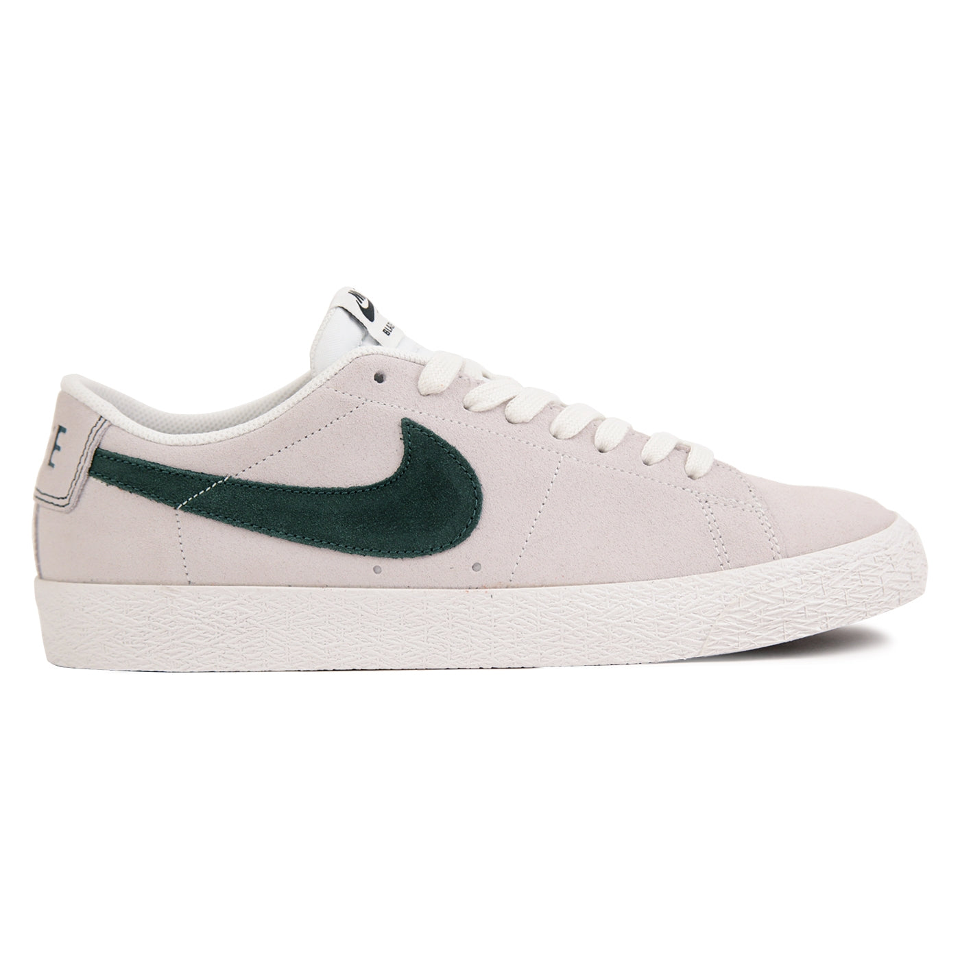 cc9023e0467 Zoom Blazer Low Shoes in Summit White   Deep Jungle by Nike SB ...