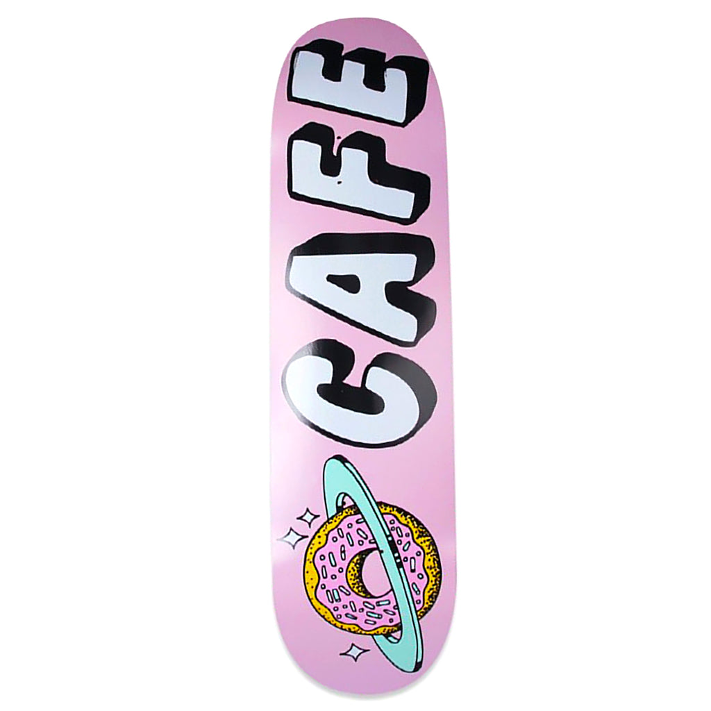 Skateboard Cafe Planet Donut Pink Deck in 8.125""