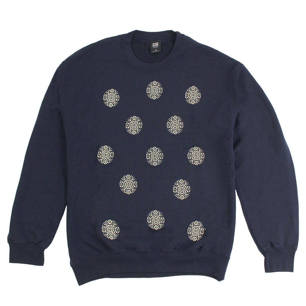 Obey Clothing Medula Sweatshirt in Navy
