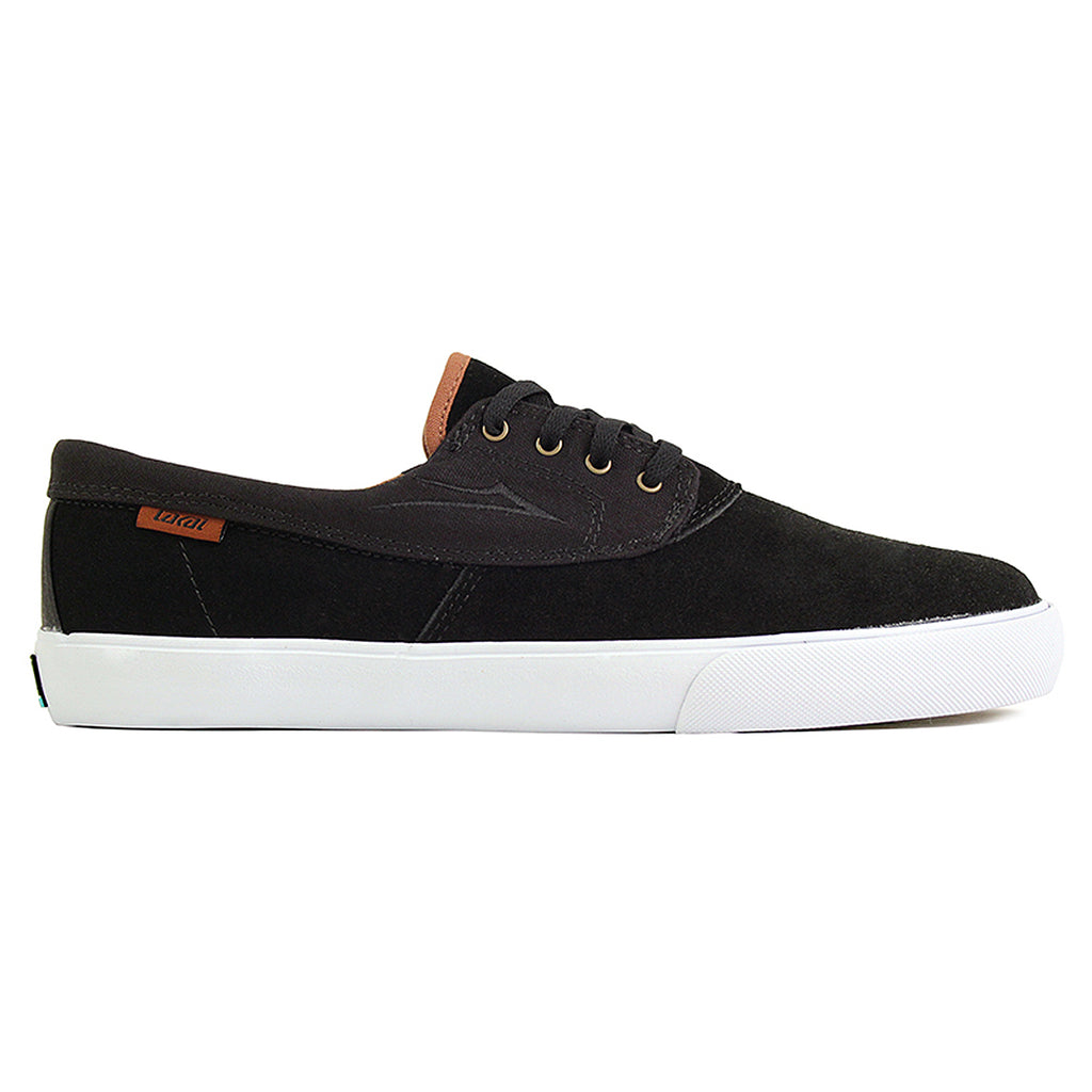 Lakai Camby Nesser (Anchor) Shoes in Black Suede