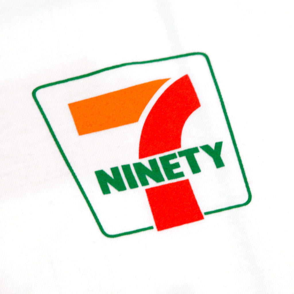 Bored of Southsea Ninety Seven T Shirt in White - Front Print