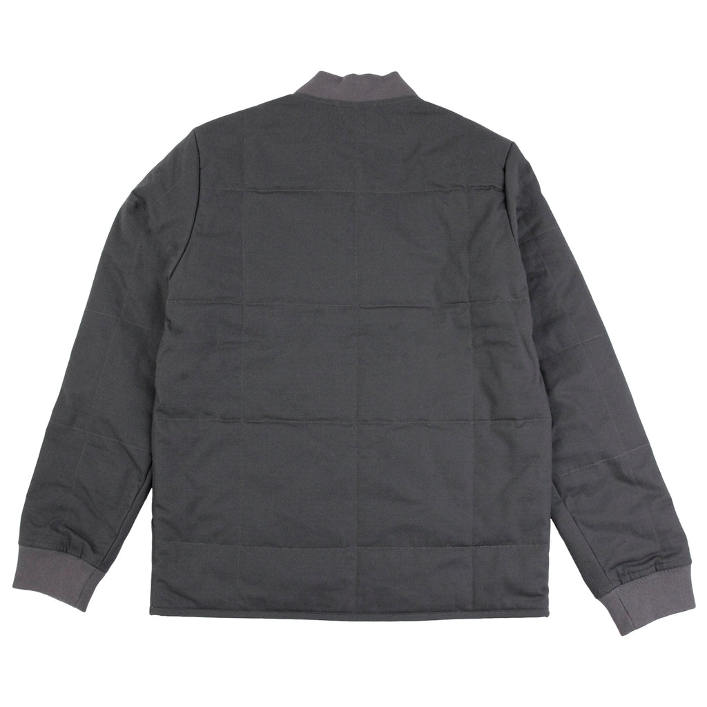 Levis Skateboarding Wharf Jacket in Graphite - Back