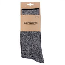 Carhartt WIP Tenure Socks in Black Heather - Packaging