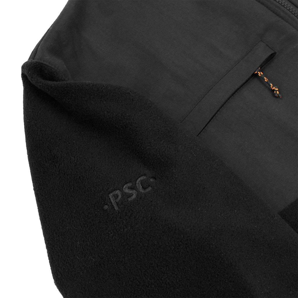 Polar Skate Co Halberg Jacket in Black / Orange - Detail 2