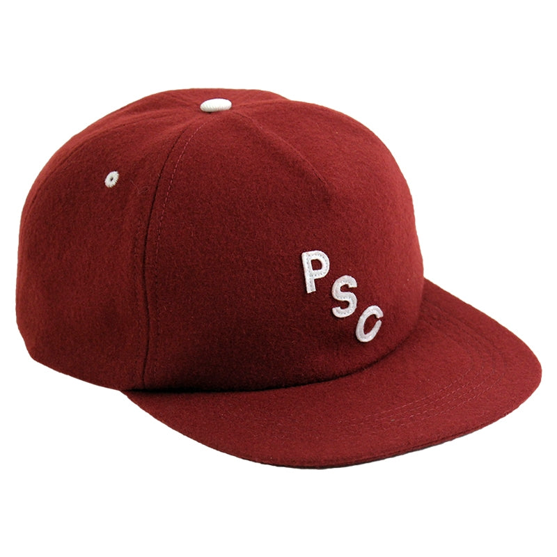Polar Skate Co PSC 5 Panel Cap in Burgundy