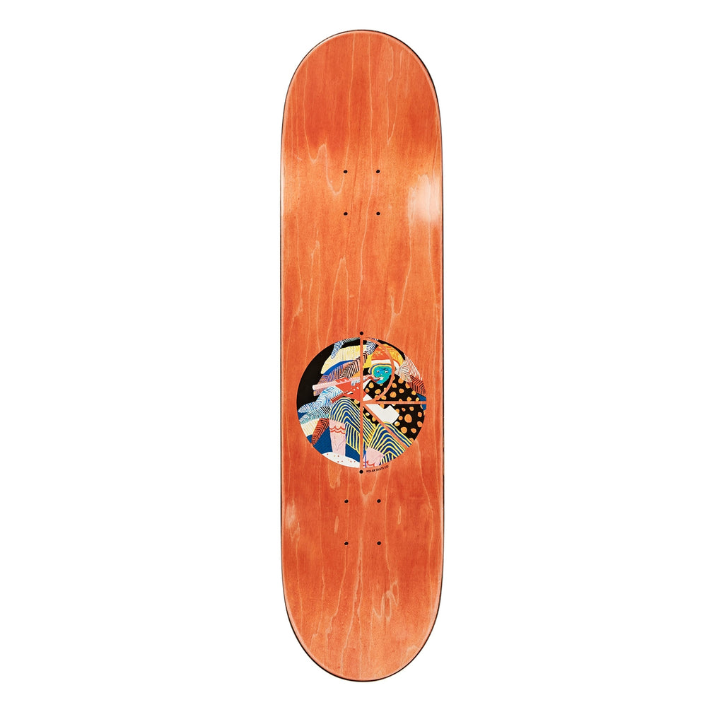 "Polar Skate Co Nick Boserio Midnight Jam Skateboard Deck in 8.4"" - Top"