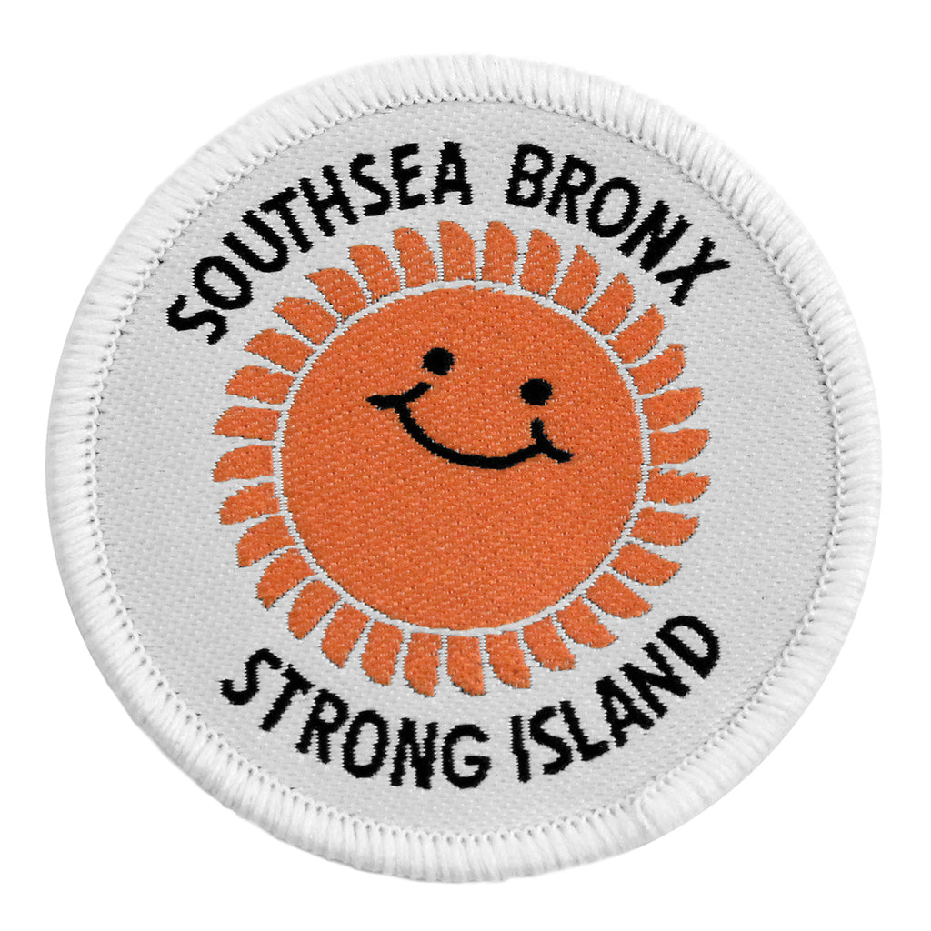 Southsea Bronx Strong Island Patch in White