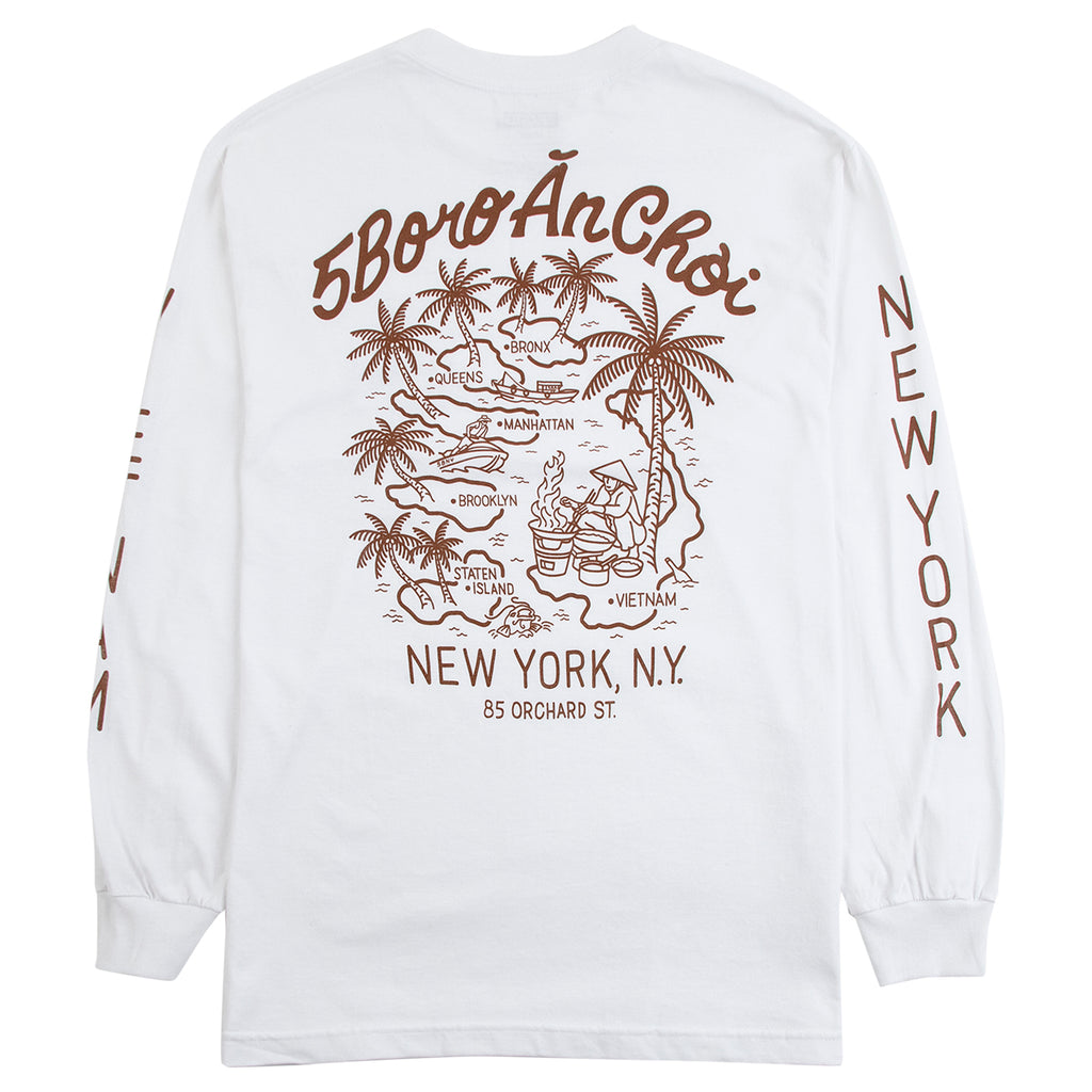 5Boro L/S An Choi T Shirt - Backprint