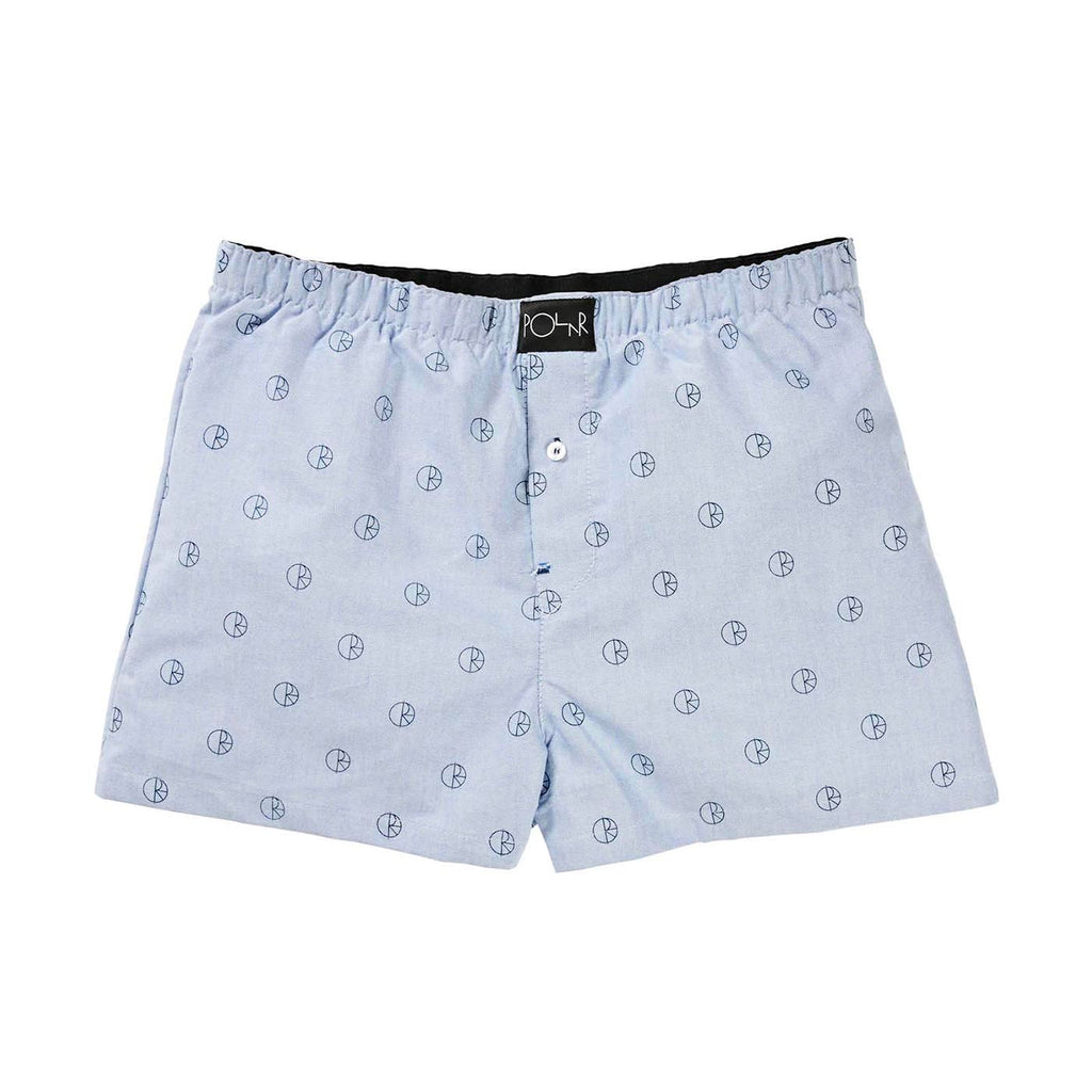 Polar Skate Co 3 Pack Boxer Shorts in Blue / Peach / Mint - Blue