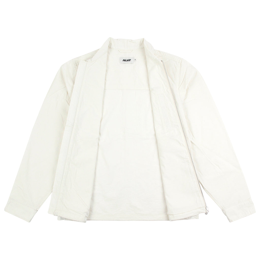 Palace Work Jacket in Whisper White - Open
