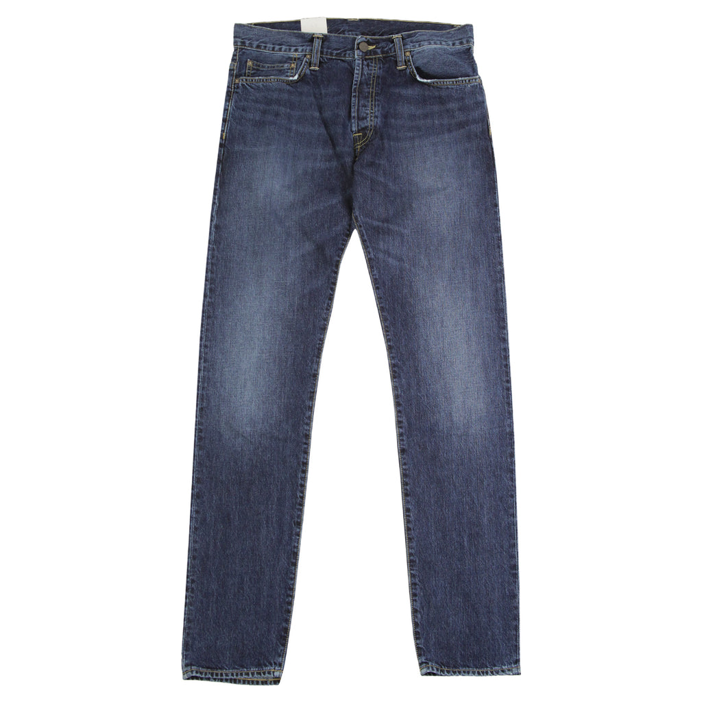 Carhartt Klondike Pant Hanford in Blue Rope Washed - Open