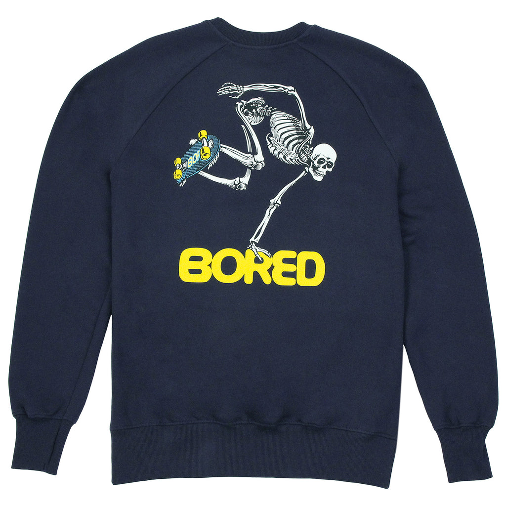 Bored of Southsea Bored Brigade Sweatshirt in Navy