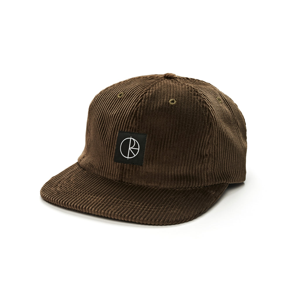 Polar Skate Co Corduroy Cap in Brown