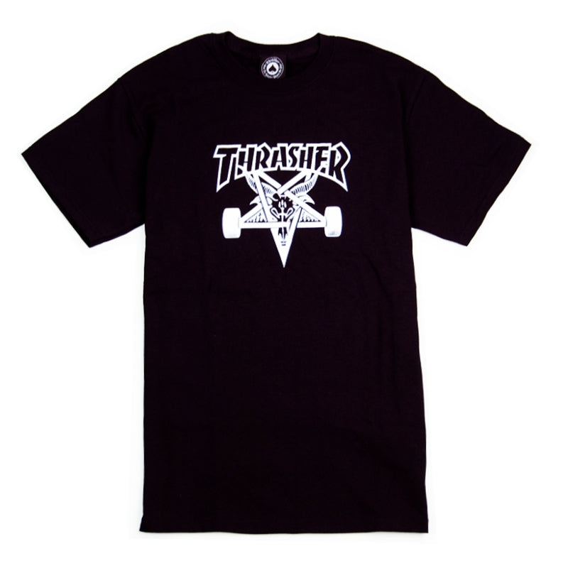 Thrasher Skategoat T Shirt in Black