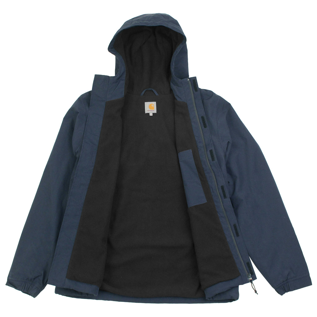 Carhartt Neil Jacket in Navy / Black - Open