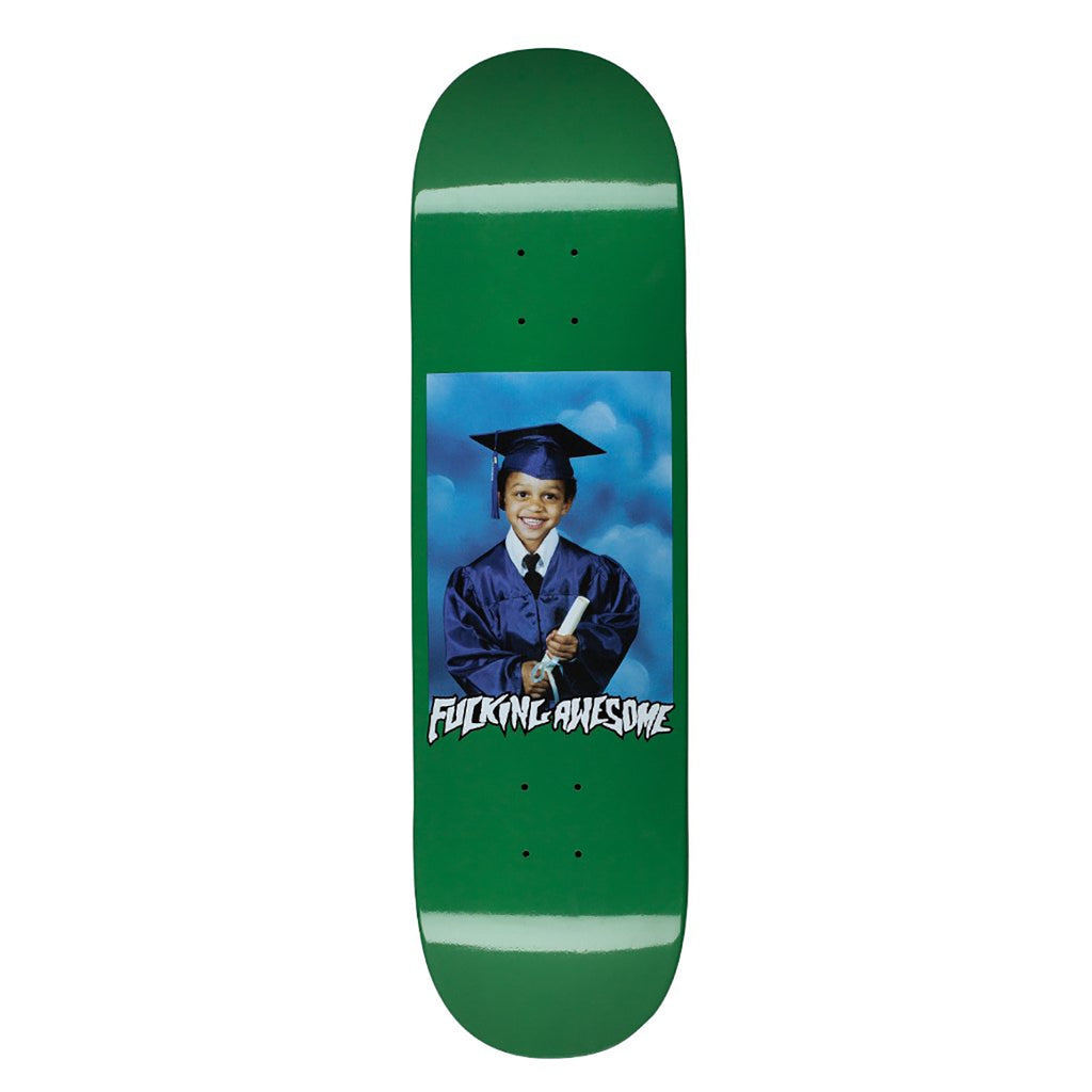 Fucking Awesome KB Class Photo Dipped Green Skateboard Deck in 8.5""