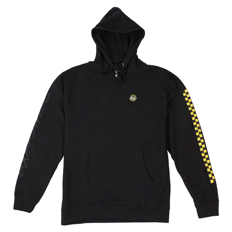 INDEPENDENT TRUCKS X DOOM SAYERS HOODIE BLACK FRONT