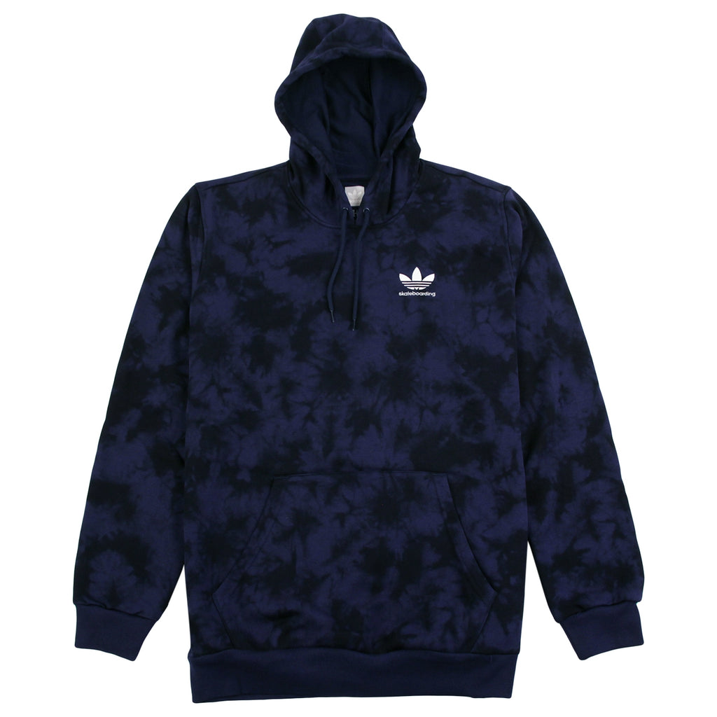 Adidas Skateboarding Clima 2.0 Crystal Wash Hoodie in Night Indigo / Black