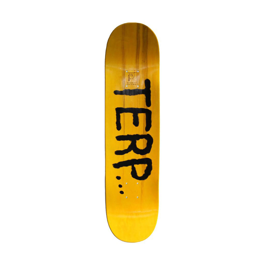 "Fucking Awesome Father Terp Skateboard Deck in 8.18"" - Top"