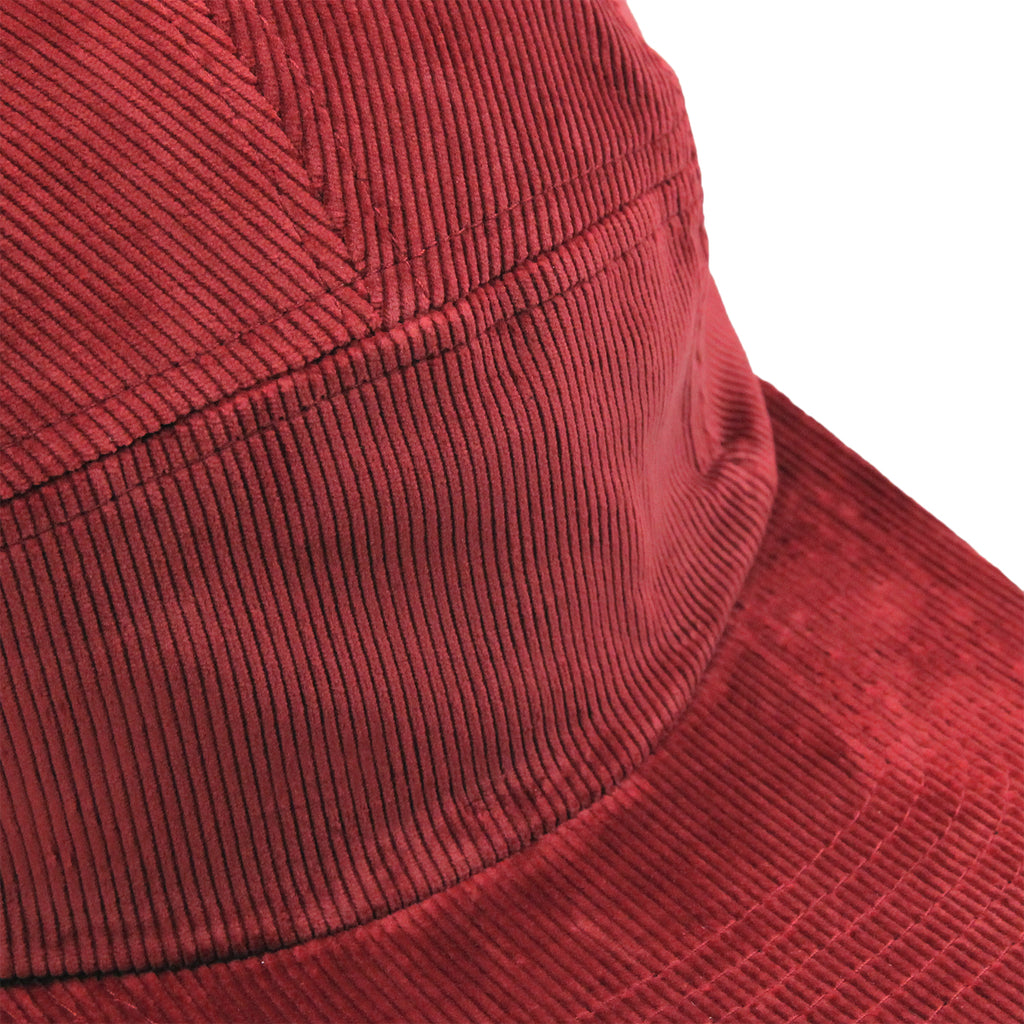 Helas Sunday 5 Panel Cap in Burgundy - Detail
