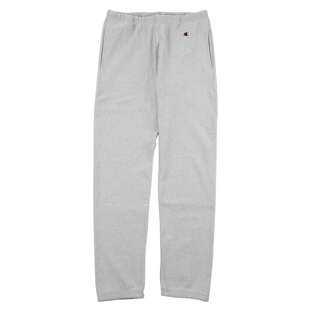 Champion Elastic Cuff Pant in Grey Melange - Open