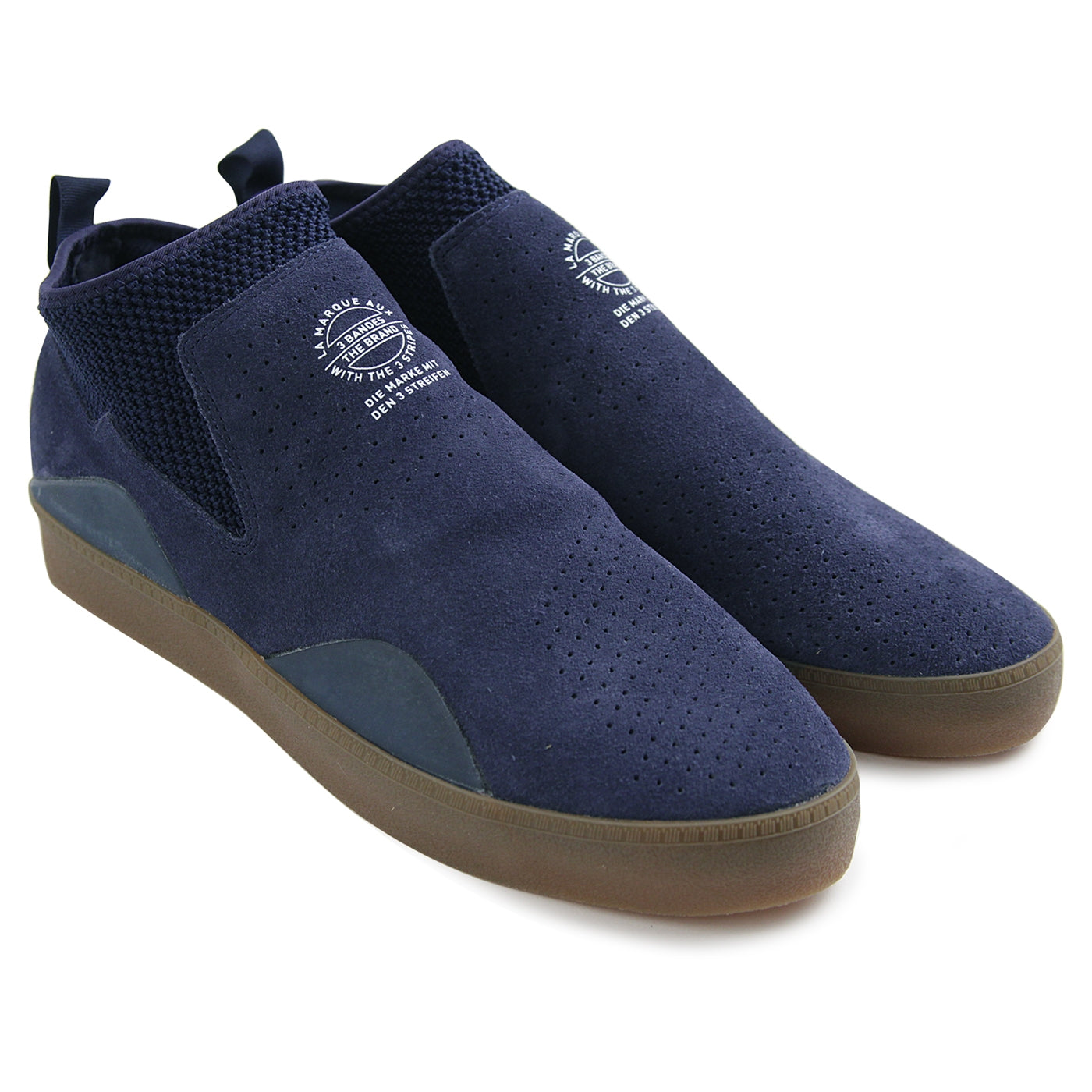 promo code 44a6a bc656 3ST.002 Shoes in Collegiate Navy  Footwear White  Gum by Adi