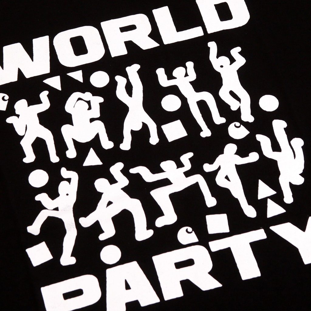 Carhartt World Party T Shirt in Black / White - Print