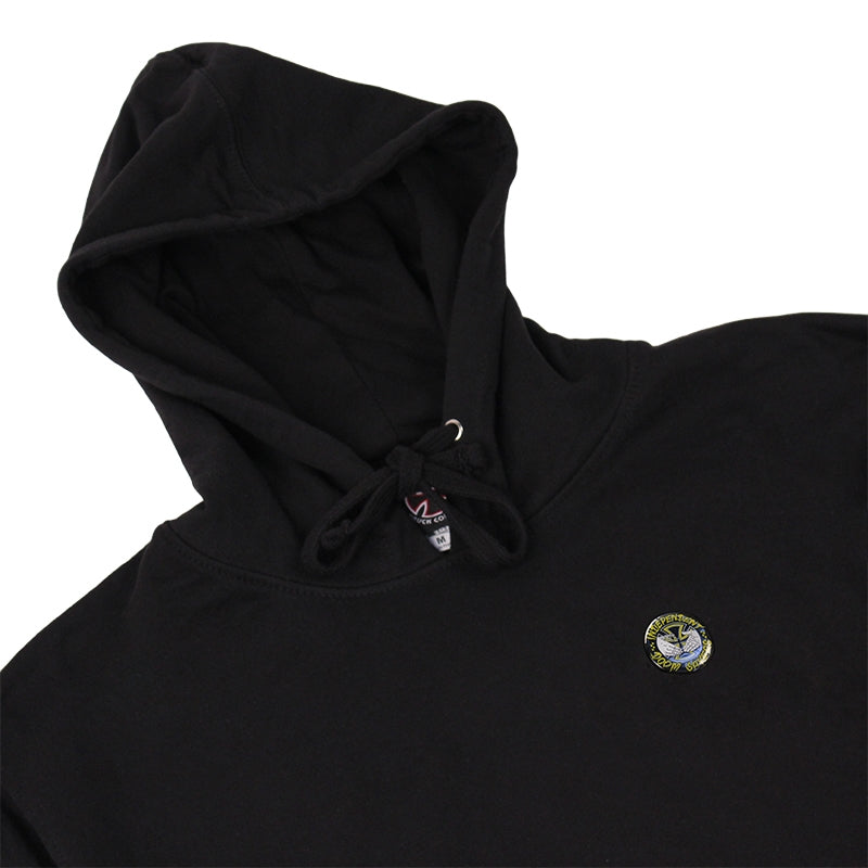 INDEPENDENT TRUCKS X DOOM SAYERS HOODIE BLACK DETAIL