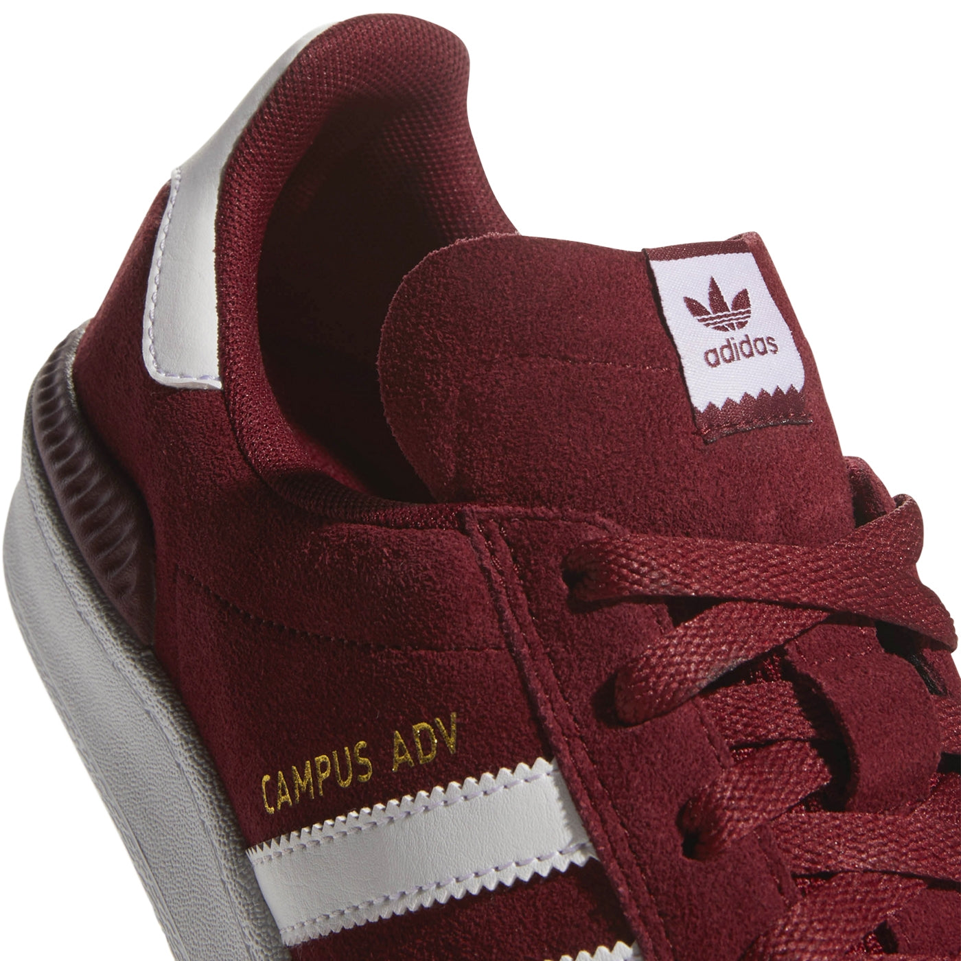 cc51f0cd8f5 Adidas Campus ADV Shoes - Collegiate Burgundy   Footwear White   Footwear  White. Size Charts