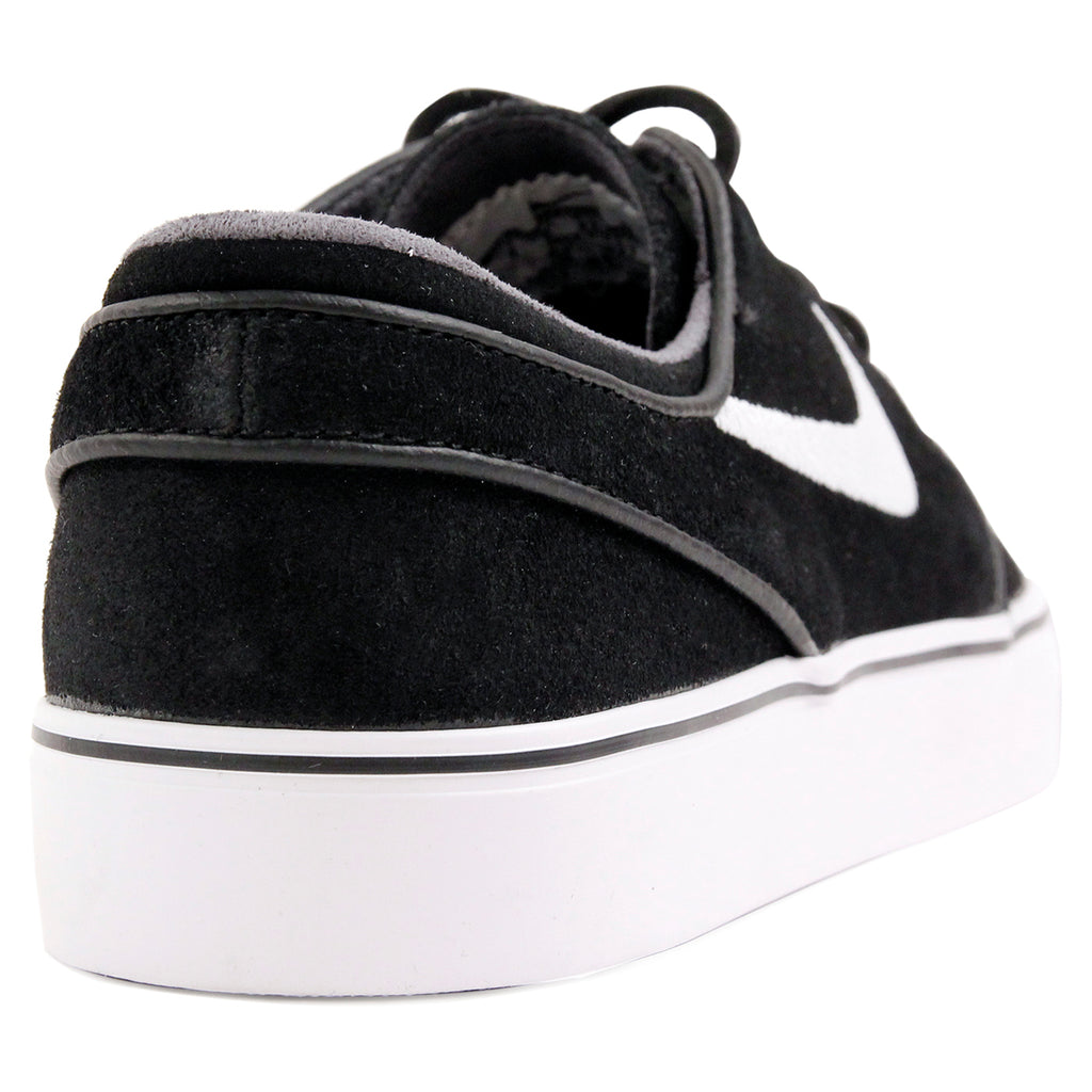 Nike SB Stefan Janoski OG Shoes in Black / White - Gum Light Brown - Heel