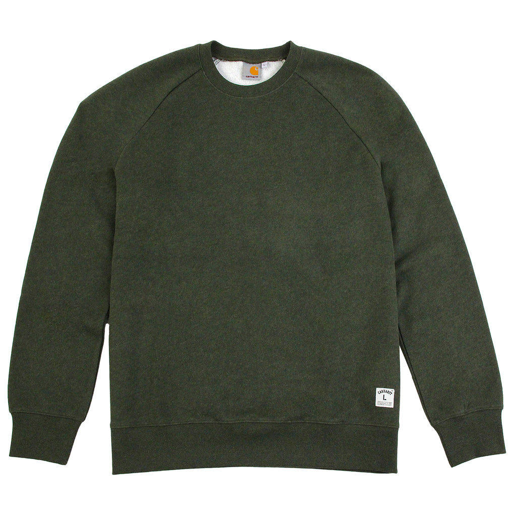 Carhartt WIP Holbrook Sweat in Blackforest Heather