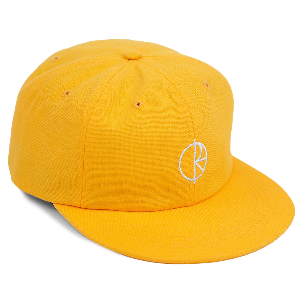 Polar Skate Co Canvas Cap in Yellow