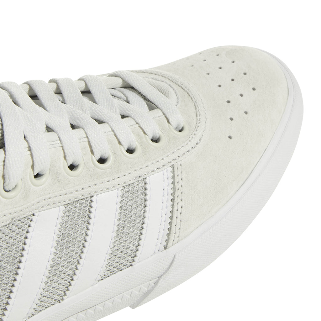 Adidas Lucas Premiere Shoes in Footwear White / Solid Grey / Real Teal - Toe
