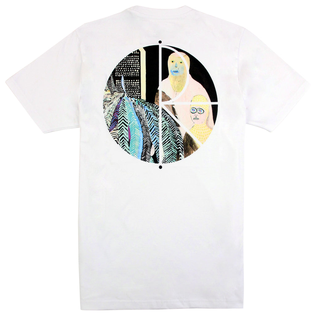 Polar Skate Co AMTK T Shirt in White