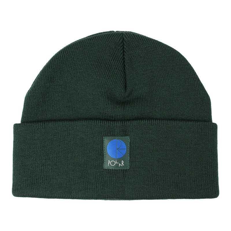 Polar Skate Co Fill Logo Beanie in Green