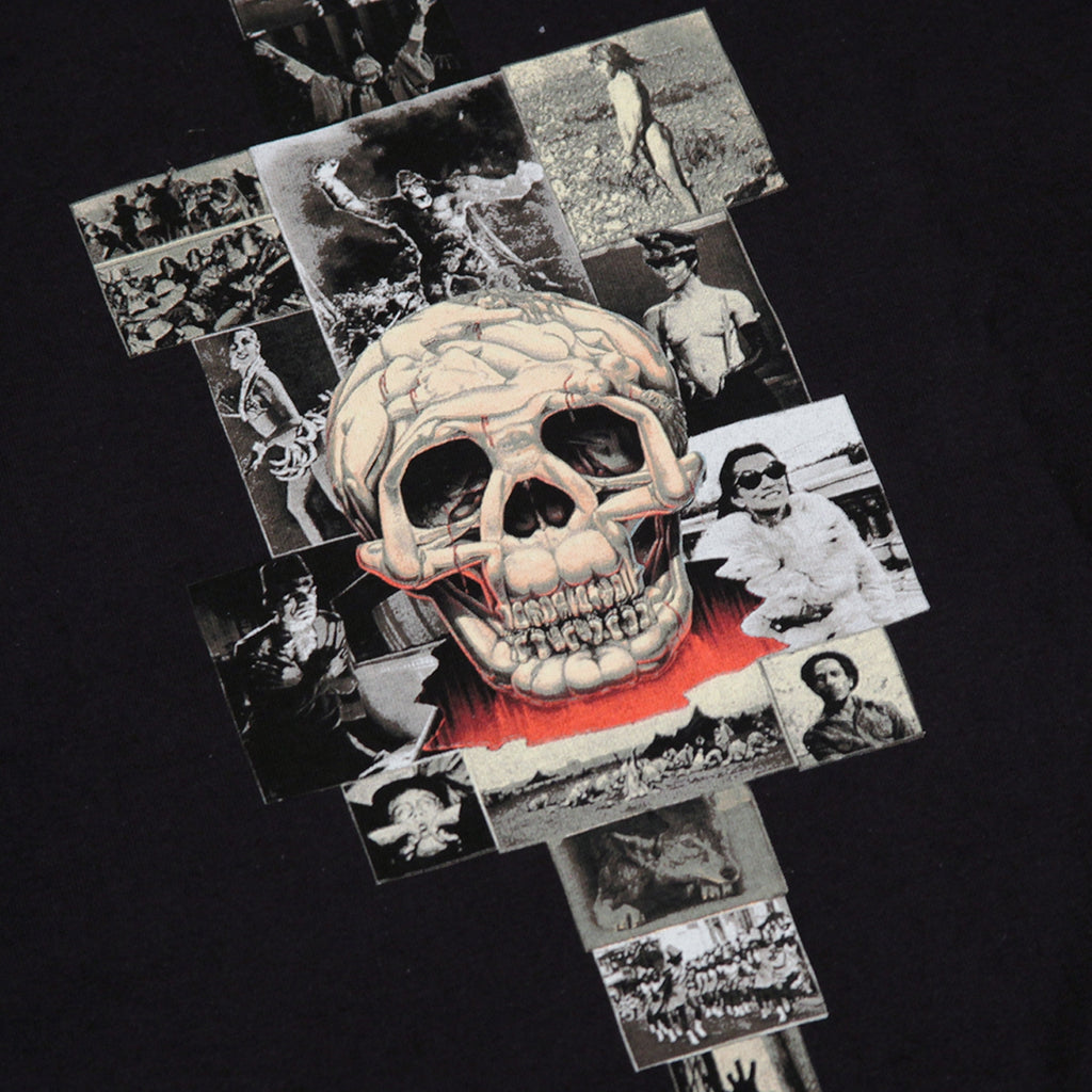 Fucking Awesome KB Collage Hoodie in Black - Print