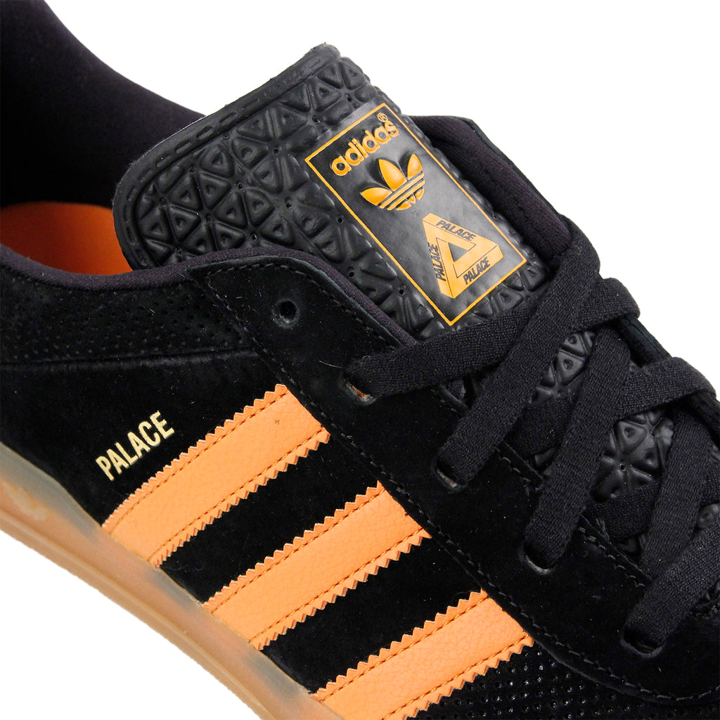 Palace x Adidas Palace Pro Shoes in Core Black / Bright Orange Gum 3 - Detail